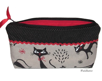 "Cosmetic bag, cosmetic bag ""Cats"""