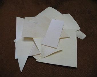 Parchment scraps 30 assorted pieces genuine parchment