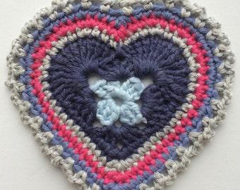 Handemade Heart Coaster, Decoration