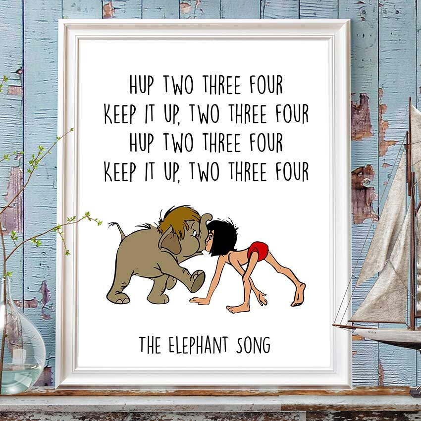 Jungle Book Quotes Unique Jungle Book Disney Quotes Junior And Mowgli Printable