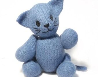 Kitty Cat  Knitting Pattern