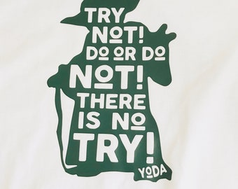 Yoda Star Wars Quote Youth Shirt // Gifts for Him // Gifts for Her // Starwars Nerd