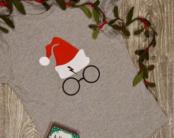 Santa/Christmas Harry Potter Shirt