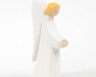 Angel nursery H 14cm, wood, communion, baptism, Christmas