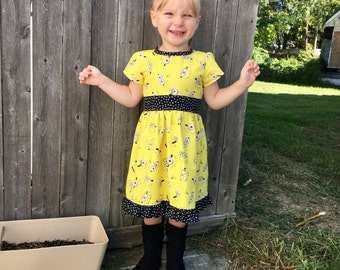 Dress Made with Minion Fabric