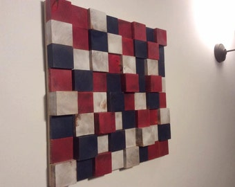 Wonderful 3D Abstract Wall Art Handmade   Broken Britain