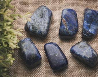 Sodalite boulder