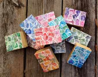 decoupage Kraft paper gift box - You choose one!