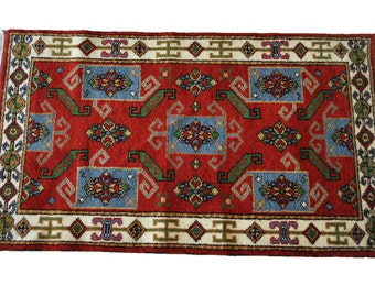 Fine Persian Hand Knotted Indo Kazak Area Rug 5' x 3', PA4624, Shipping Not Free!!!