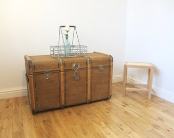 Bentwood Steamer Trunk