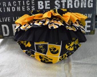 GIrls Iowa Hawkeye Diaper Cover
