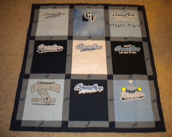 Two Sided T-shirt Quilt
