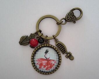 Fashion women key chain