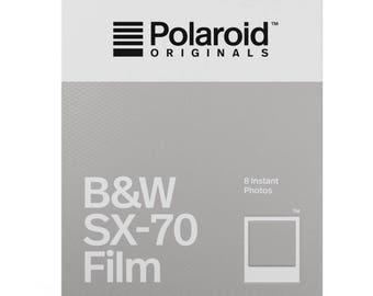 Polaroid Orinigals B&W Film for SX-70
