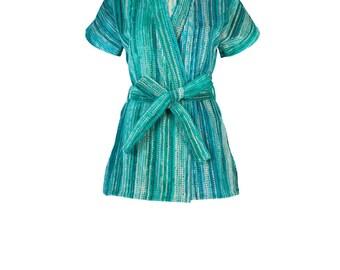 Green Grass Beach Kimono