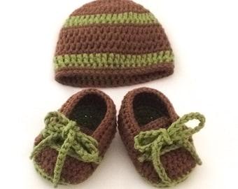 Baby Hat & Booties Set