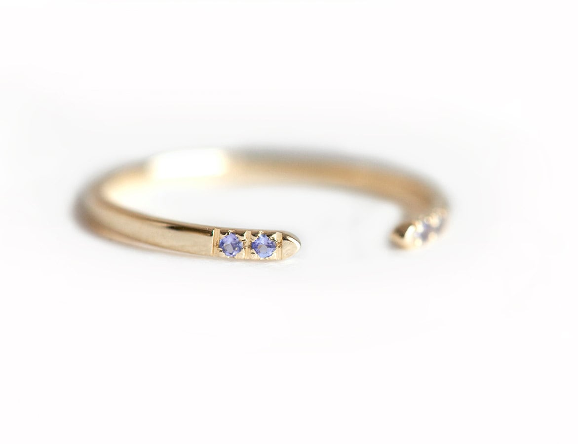 solitaire bands boutique tanzanite gold image yellow and engagement ring stone diamond product