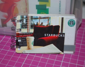 Red Chair Starbucks Notebook