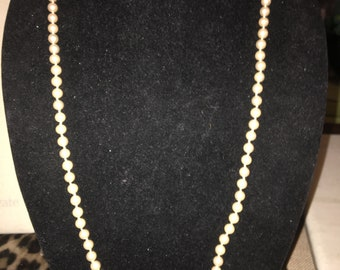 Vintage Peals with a Pretty Goldtone Clasp