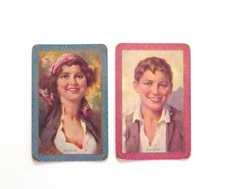 Vintage Swap Cards Trading Cards Jollity and Mischief