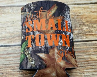 Small Town Girl Camo Can Insulator
