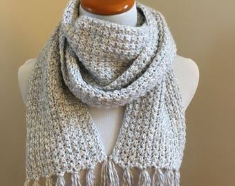 READY TO SHIP long super scarf, crochet scarf