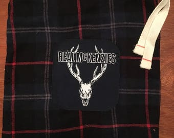 Real McKenzies drawstring pouch