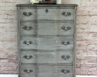 SOLD** French Provincial Dresser