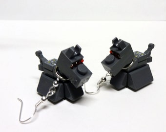 Who Robot Dog Earrings