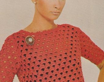 vintage crochet bolero pdf crochet pattern