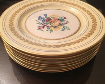 Set of 8 Dinner Plates Concorde China
