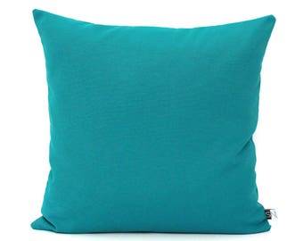 Teal Pillows Etsy