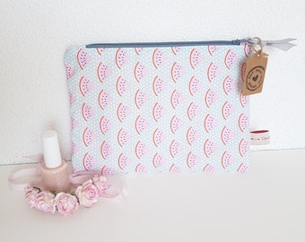 Spring Collection, medium size pouch, clutch bag, wallet, make-up bag