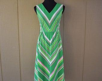 Vintage Malia Honolulu 1960's dress