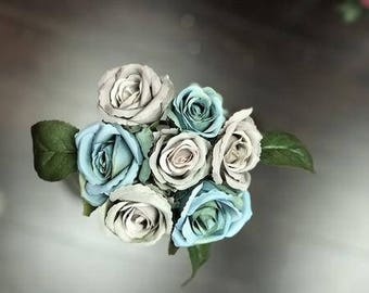 Mini rose Bunch Artificial Flower