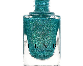 Harbour Island - Caribbean Blue Holographic Nail Polish