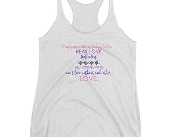 Looking for Real Love Tank Top