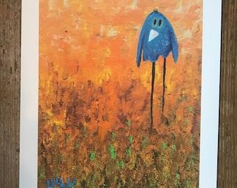 Bluebird -Giclee Print
