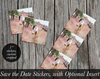 Calendar Save the Date Stickers and/or Insert