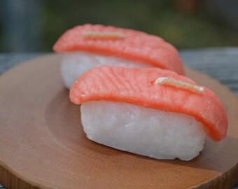 Tuna sushi candle