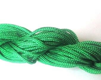 Nylon string Green 2mm 12mm skeins