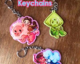 Steven Universe Keychains