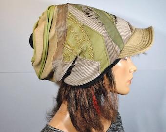 Cap fleece lining