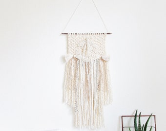 Weaving wall hanging tapestry / Boho weaving