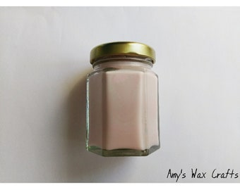 Floral, Pink, Glitter, Spring, Cherry Blossom, Scented, Candle