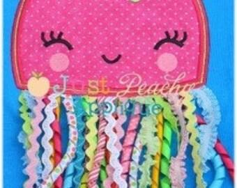JellyFish Applique Machine Embroidery Design