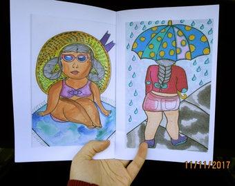 Travel Drawings Zine