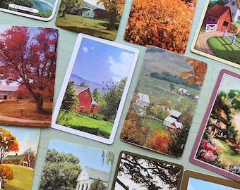 Places and Landscapes- Vintage Playing Cards
