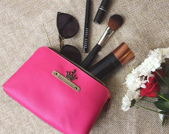 Pink Vanity Pouch