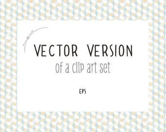 Vector Version Of A Clip Art Set
